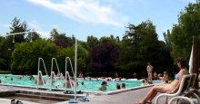 Termálne kúpalisko malý plavecký bazén Dunajská Streda