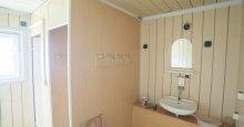 Kúpelňa s umývadlom,WC a sprchou